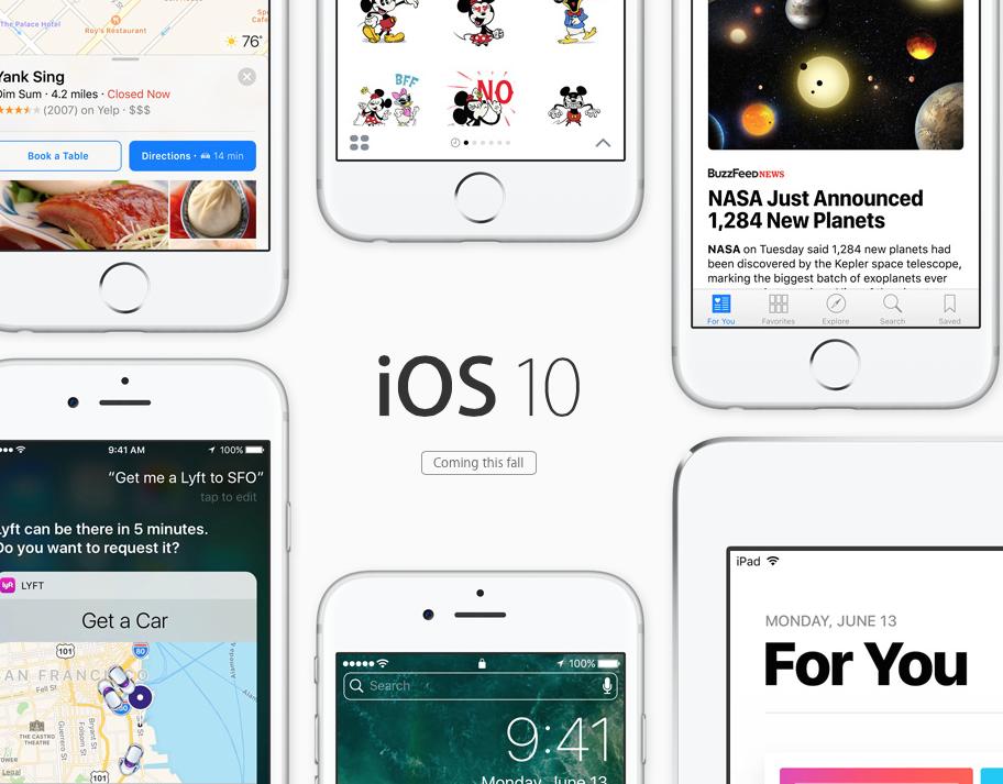 iOS 10 重點整理,今年秋季開放更新